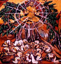 The Ascension. by Jyoti Sahi