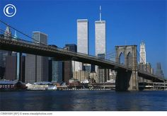 Brooklyn Bridge and The World Trade Center