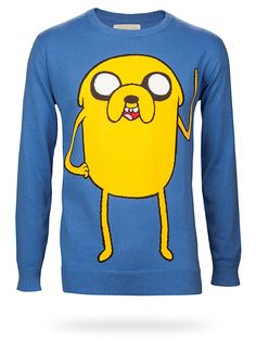 Adventure Time Sweater. I need this!