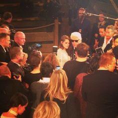 Kristen Chanel Métiers d'Art Show in Dallas