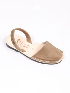 Pons by Avarcas Sandals - Taupe (Flat) - I prefer the wedge, and in Pistachio.  9/13