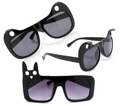 See the World Through Cat Shaped Sunglasses