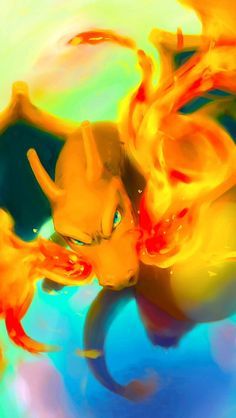 Charizard, another Pokemon. He represents courage and strength. The gamer can see how he grows and evolves to the dragon monster he currently is. Is is both a hero in the anime and the video games.