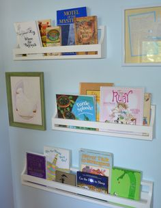 German Jello Salad: Flat Wall Book Holders