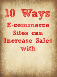 Pinterest Marketing: 10 Ways to Increase E-commerce Sales with Pinterest by Vincent Ng of MCNGmarketing.com