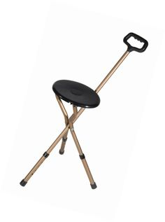 Walkers and Canes: Drive Medical Folding Lightweight Adjustable Height Cane Seat -> BUY IT NOW ONLY: $32.36 on eBay!