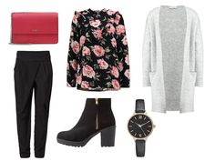 Lady Mode. Dressy casual autumn street style look.