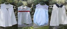 Blog costura y diy: Oh, Mother Mine DIY!!: Cómo hacer ropa para bebés, patrones de vestidos p...