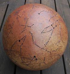 David Raynalds  ceramic celestial sphere