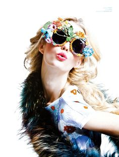 ef1fec4f0e Jennifer Pugh by Kah Poon  crazyglasses Editorial Fashion