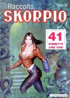 Fumetti EDITORIALE AUREA, Collana SKORPIO RACCOLTA n°297 FEVRIER 1999
