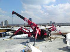 spider crane - #Crane #Industrial #Setcom
