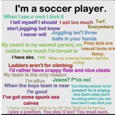 soccer quotes | Soccer quote | i live for Sports