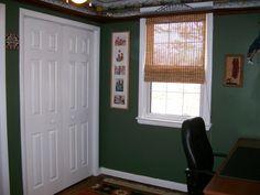 Len's office w/ train ledge