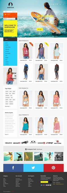 Surfhouse_Bootstarp Free Template Ecommerce - Love a good success story? Learn how I went from zero to 1 million in sales in 5 months with an e-commerce store.