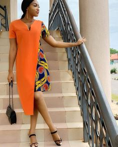 creative ankara gown styles for ladies from Diyanu Latest African Fashion Dresses, African Dresses For Women, African Print Dresses, African Print Fashion, Africa Fashion, African Attire, African Wear, Ankara Short Gown Styles, Trendy Ankara Styles