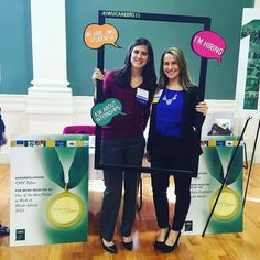 It was all smiles at the CBIZ Tofias booth at the Accounting & Finance Career Panel & Fair, hosted by JWU Providence Experiential Education & Career Services!