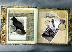 Oddments  & Bagatelles, An Artist Book. Rita McNamara - Salon de Refuse Studio Recycled & repurposed papers, old enveloped, and ephemera.