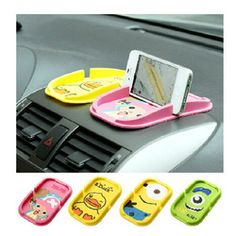 3x Nano Car Magic Anti-Slip Dashboard Sticky Pad Mat Phone Holder ZY