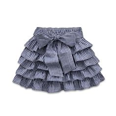Cute skirt from Gilly Hicks! Kids Frocks Design, Baby Frocks Designs, Baby Girl Dress Patterns, Baby Dress Design, Kids Party Wear Dresses, Dresses Kids Girl, Gingham Skirt, Skirts For Kids, Frocks For Girls