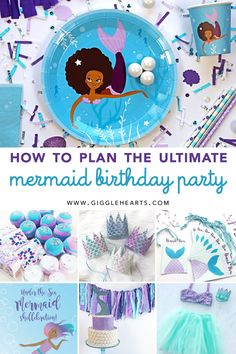 How to Plan the Ultimate Mermaid Birthday Party for Little Girls that want to be a Mermaid