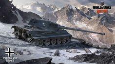 HD wallpaper: World of Tanks, Tiger II, wargaming, video games