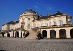 Schloss Solitute Stuttgart (Germany) was built as a hunting lodge between 1764 and 1769 under Duke Karl Eugene of Wurttemberg.