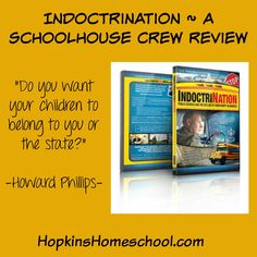 """This is not your normal """"boring"""" documentary, but a very interesting and engaging story about the history of our government schools and education system. #homeschool #hsreviews#indoctrinationmovie"""