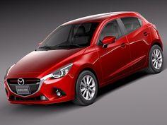 Mazda 2 3D 3Ds - 3D Model
