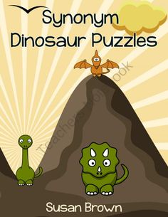 Synonym Dinosaur Puzzles from Warm Hearts Publishing on TeachersNotebook.com -  (20 pages)  - Synonym Dinosaur Puzzles is a printable pack that offers your students an enjoyable way to practice their reading and vocabulary skills.