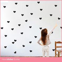 hartjes-muurstickers-kleine-hartjes-zwart-wit-roze-rood-grijs-paars-alle-kleuren