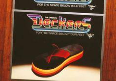 Deckers... the original 'flip-flop!'