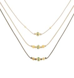 Illuminations Emerald with Gold Sapphire Stone, White Sapphire, Stone Necklace, Gold Necklace, Having An Affair, I Love Jewelry, 18k Gold, Jewelry Collection, Turquoise
