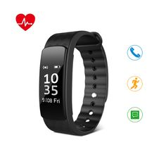 HEIHEI Fitness Tracker, Activity Trackers Watch with Step Counter,Sleep Monitor,Waterproof Pedometer Smart Wristband for Kids Women and Men ** Read more at the image link. (This is an affiliate link) Activity Tracker Watch, Best Fitness Tracker, Counter, Monitor, Image Link, Gadgets, Sleep, Electronics, Kids