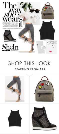 """shein"" by perfex ❤ liked on Polyvore featuring MANGO, Jimmy Choo and WALL"