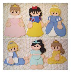Girl Disney Princess Scrapbooking Paper Piecing 6 Pc. Set - Scrapbook.com