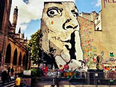 Street art & art in Paris - Centre Pompidou