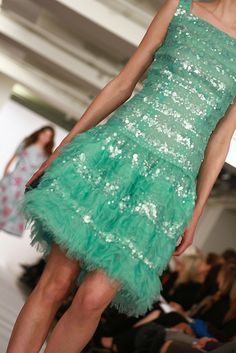 Oscar de la Renta PreFall 2013 - photo by Rachel Scroggins