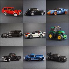 Nine Highlights of 2019 Lego Speed Champions, Amazing Lego Creations, Lego Models, Lego Projects, Custom Lego, Lego Technic, Legos, Cool Toys, Instagram