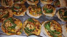vegetable pizza swirls with a BBQ & tomato and sweet chilli sauce homemade by Clares CakesnBakes