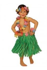 Çocuk Hawaii Kostüm Set