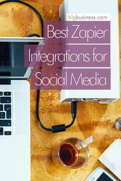 """Last week I wrote all about the best IFTTT recipes for social media, and some people said """"Hey, what about Zapier? Social Media Quotes, Social Media Tips, Marketing Tools, Social Media Marketing, Online Marketing, Relationship Marketing, Business Management, The Help, Business School"""