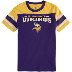 Minnesota Vikings Youth Fan Gear Loyalty T-Shirt - Purple