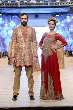Anarkali by HSY Bridal Collection at PFDC LOreal Paris Bridal Week 14