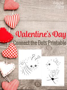 Have fun with these Valentine's day connect the dots printables, your kids will thank you for this great counting activity. Connect the dot printables are fun puzzles that your kids will enjoy counting with them and trying to figure out what the pictures are.  #Valentinesday #math #counting #homeschool #kindergarten