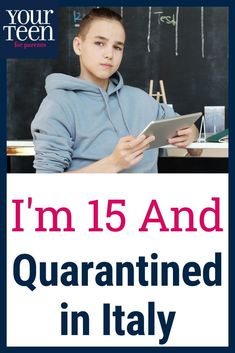 When his teachers told him school in Italy was canceled for a week, he was thrilled. Then a week became longer and then it became lockdown. A 15-year-old teenage boy describes what he misses most and what he's learned about himself during this experience.  #yourteenmag #pandemic #covidvirus #quarantine #virusanxiety #teensandcovid #teenisolation #boredteens