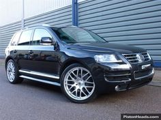 Used 2007 VW Touareg V10 ALTITUDE DPF VW FSH 22 INCH WHEELS for sale in Hertfordshire | Pistonheads