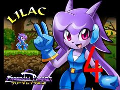 Freedom Planet - Adventure Mode Lilac 4