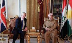 Iraqi Kurdistan Region's President Meets British Defence…