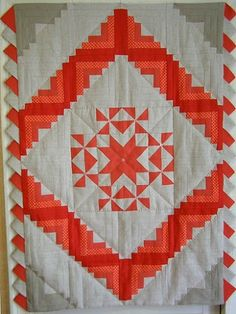 Russian quilting. Centre square as cushion. Mixed colours of buttons.